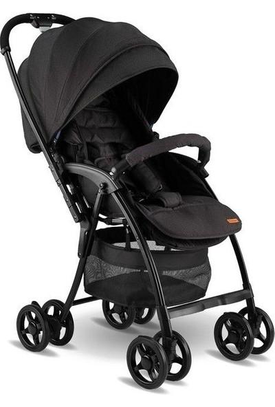 Babyhope Viva Çift Yönlü Hafif Bebek Arabası - Siyah