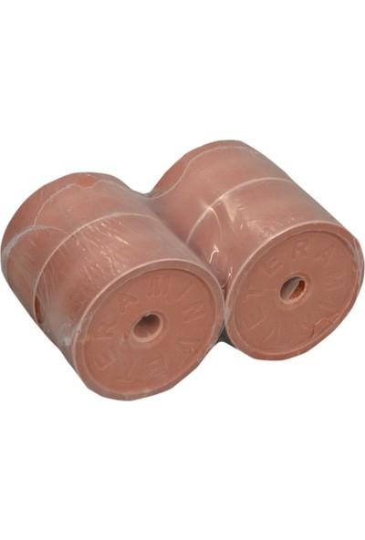 Veteramin Mineral Yalama Taşı 3 kg - 4 Adet Kırmızı