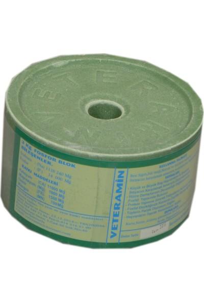 Veteramin Mineral Vitamin 3 kg Yalama Taşı Yeşil 1 Adet