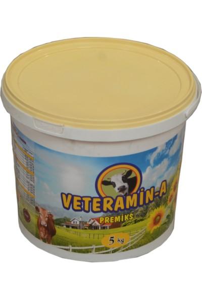 Veteramin - A Yem Katkısı Premiks Süt ve Besi 5 kg Kova