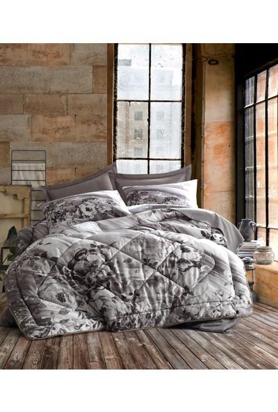 Cotton Box Saten Çift Kişilik Uyku Seti Belinda Vizon