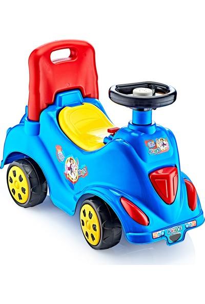 Güçlü Toys İlk Arabam Oyuncak Mavi