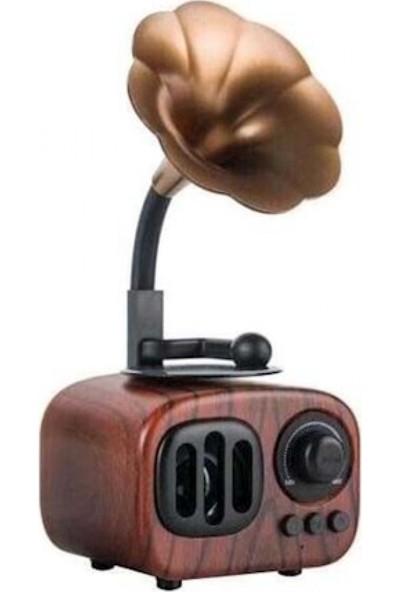 Mytech Nostaljik Gramafon B7 Bluetooth Usb Sd Cart Müzik Kutusu