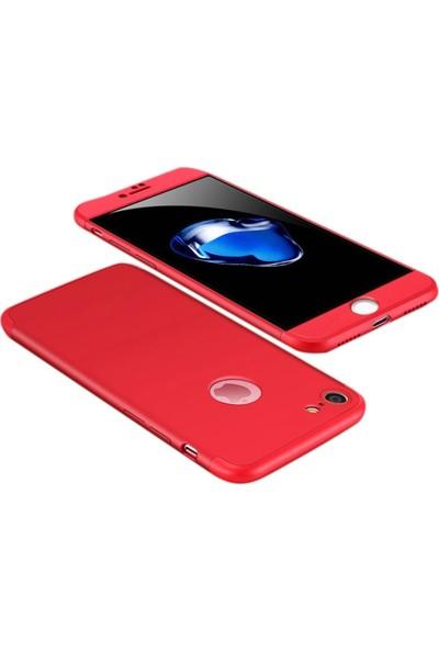 Aksesuarkolic Apple iPhone 6/6S Plus Kılıf 360 Derece 3 Parcali Ays Kılıf