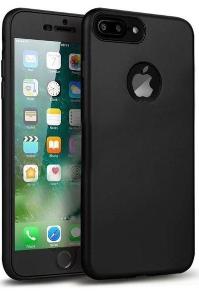 Aksesuarkolic Apple iPhone 7 Plus Kılıf 360 Derece Silikonlu Case
