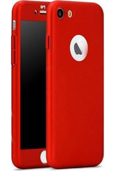 Aksesuarkolic Apple iPhone 7 Plus Kılıf 360 Derece Tam Koruma Rubber