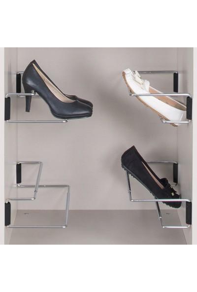 Hafele Ayakkabılık Siyah 700 x 200 x 95 mm 1 Adet