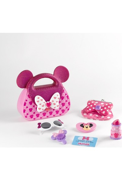 Disney Pink Minnie Çantalı Aksesuar Seti