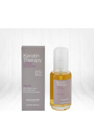 Alfaparf Lisse Keratin The Oil Bakım Yağı 50 ml