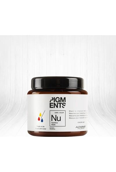 Alfaparf Pigments Nutritive Hasarlı Saçlar İçin Besleyici Yansıma Maskesi 200 ml
