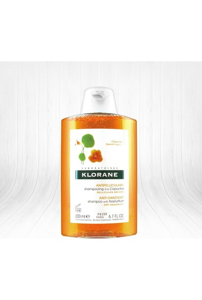 Klorane Capucine Kuru Kepeğe Karşı Şampuan 200 ml