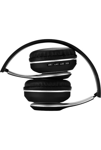Polosmart FS19 Mp3 Player Kulak Üstü Kablosuz Kulaklık - Siyah