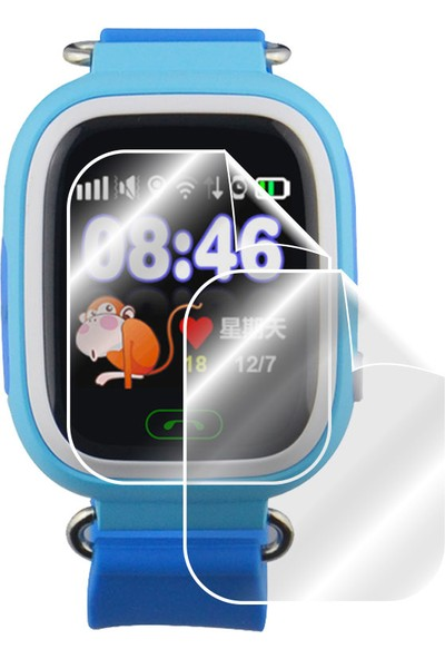 IPG Flykıds-Bılıcra-Sentar V80 - Q90 - Puffy Akıllı Çocuk Saati Ekran Koruyucu 2 Adet
