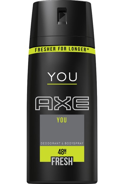 Axe Deodorant Sprey You 150 Ml
