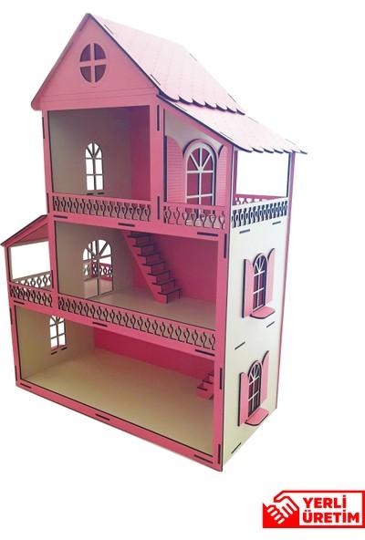 Ahşap Özel Tasarım Bebek Evi