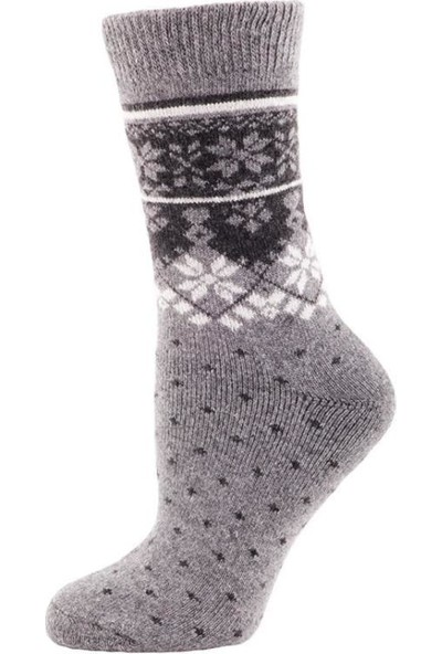 Panthzer Casual Wool Socks Çorap Gri