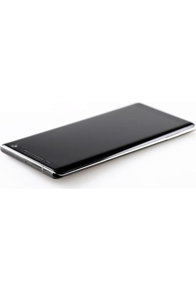 Ally Gor Nokia 8 Sirocco 3D Kavisli Full Darbe Emici Ekran Koruyucu 2 Adet Set