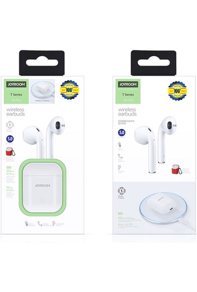 Joyroom JR-T03 Wirelles Earbuds Kablosuz Bluetooth Kulaklık