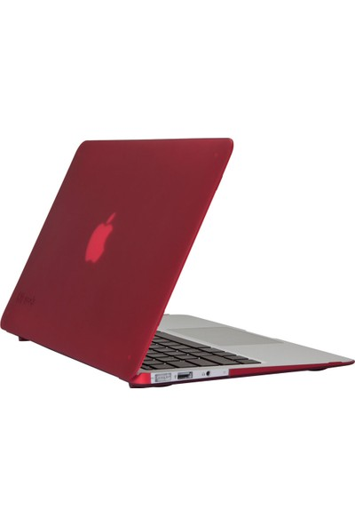 "Speck Seethru Satin Macbook Air 11"" Koruma Kılıfı - Red"
