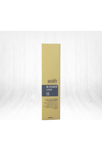 Muddy B-TOXES Lock 2 Keratin Sabitleyici 190 ml