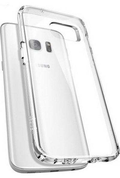 Jopus Samsung Galaxy S7 Edge Silikon Kılıf Şeffaf
