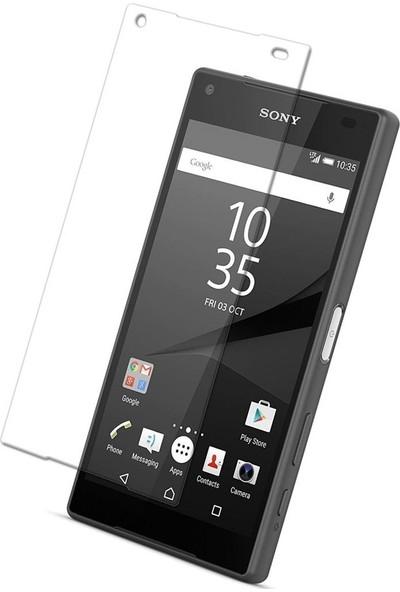 TelefonBorsası Sony Xperia Z5 Compact Ekran Koruyucu Cam