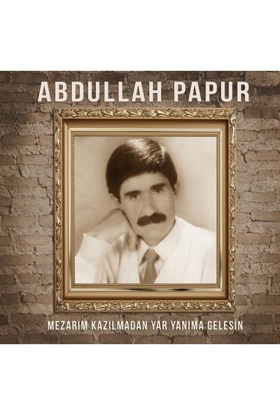 Abdullah Papur - Mezarım Kazılmadan Yar Yanıma Gelesin - Plak