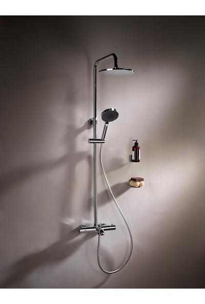 Artema Aquaheat A49254 Termostatik Rh3 Banyo Sistemi, Krom