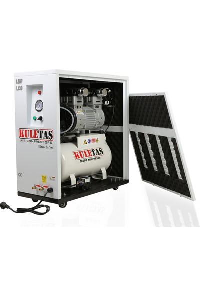 Kuletaş Kabinli Ultra Sessiz Kompresör 30 Litre 1,5 Hp
