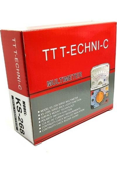 Tt-Technıc Ks-268 Analog Multimetre Ölçü Aleti