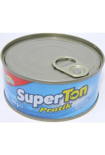 Superfresh Superton Pratik 160 gr Ton Balığı