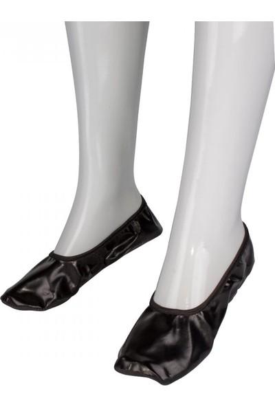 Kına Atölyesi Pisi Pisi Çarık Ayakkabı Siyah