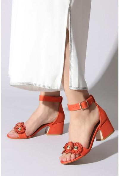 Rovigo Plus Kadın Turuncu Ayakkabı