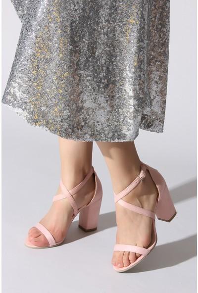 Rovigo Plus Kadın Pudra Ayakkabı