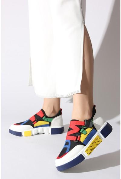 Rovigo Plus Kadın Renkli Ayakkabı