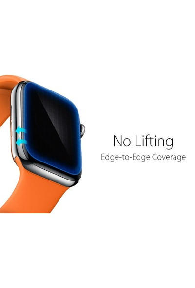 Spigen Apple Watch Seri 5/4 ile Uyumlu (40mm) Ekran Koruyucu Film Neo Flex HD (3 Adet) - 061FL25575