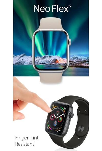 Spigen Apple Watch Seri 5/4 ile Uyumlu (44mm) Ekran Koruyucu Film Neo Flex HD (3 Adet) - 062FL25574