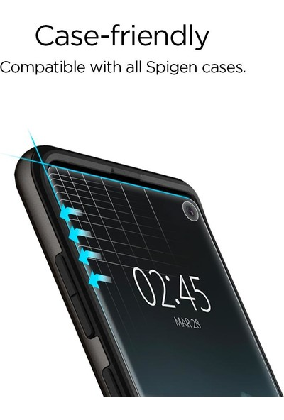 Spigen Samsung Galaxy S10 Ekran Koruyucu Film Neo Flex HD (2 Adet) - 605FL25696