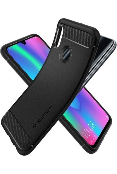 Spigen Huawei P smart 2019 / Honor 10 Lite / Nova Lite 3 Kılıf Rugged Armor Black - L40CS25949
