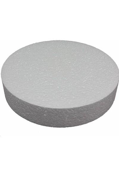 Strafor Sepeti - Çap 20 cm x 3 cm Pasta Altlığı - Pasta Maket - Altlık