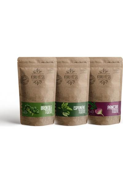 Kuru Yeşil Vegan Paketi