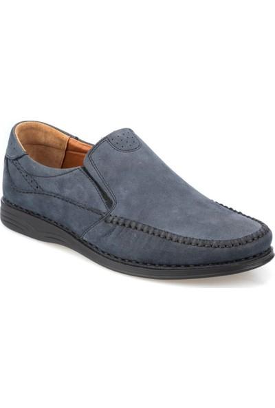 Polaris 5 Nokta 91.105517Nm Lacivert Erkek Deri Klasik Ayakkabı