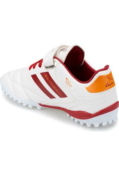 Gs Adolf Turf J Gs Beyaz Kırmızı Erkek Halı Saha Ayakkabısı