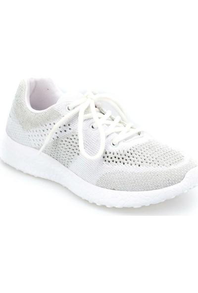 Kinetix Missy W Beyaz Açık Gri Kadın Koşu Ayakkabısı