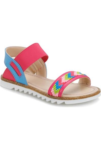 Seventeen Pola Fuşya Kız Çocuk Sandalet