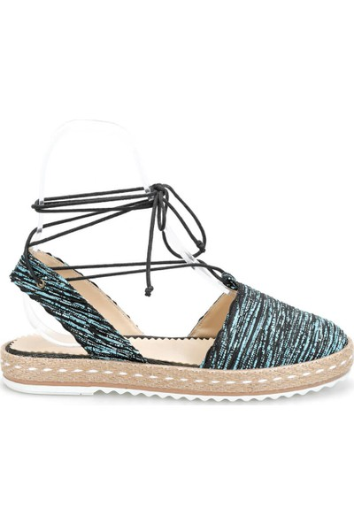 Art Bella Cs19107 Mavi Kadın Espadril Ayakkabı