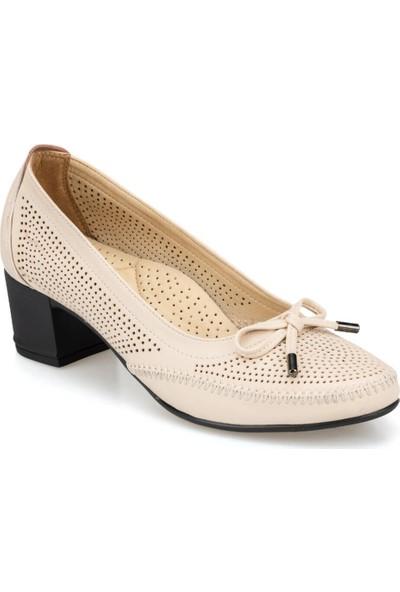 Polaris 91.150702.Z Bej Kadın Ayakkabı