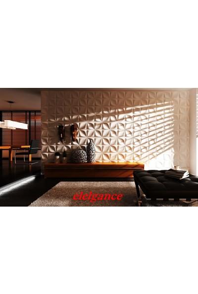 Duvarım Boyanabilir 3 Boyutlu Duvar Panelleri Elegance
