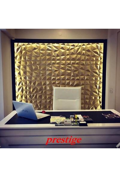 Duvarım Boyanabilir 3 Boyutlu Pvc Duvar Panelli Prestige