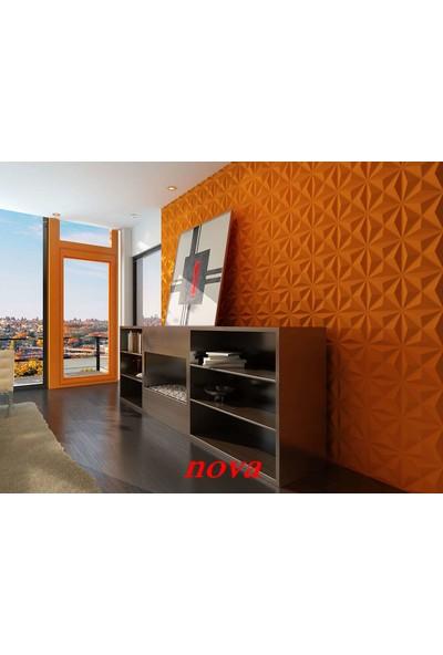 Duvarım Boyanabilir 3 Boyutlu Pvc Duvar Panelli Nova